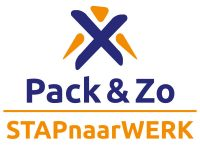 Packenzo Stap naar Werk logo mens