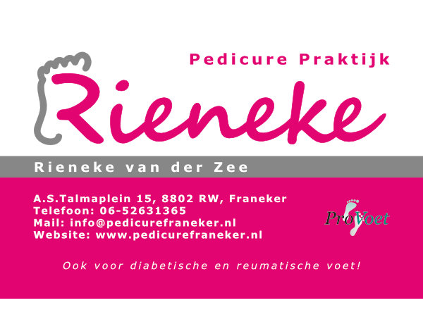 Rieneke Pedicure Praktijk logo