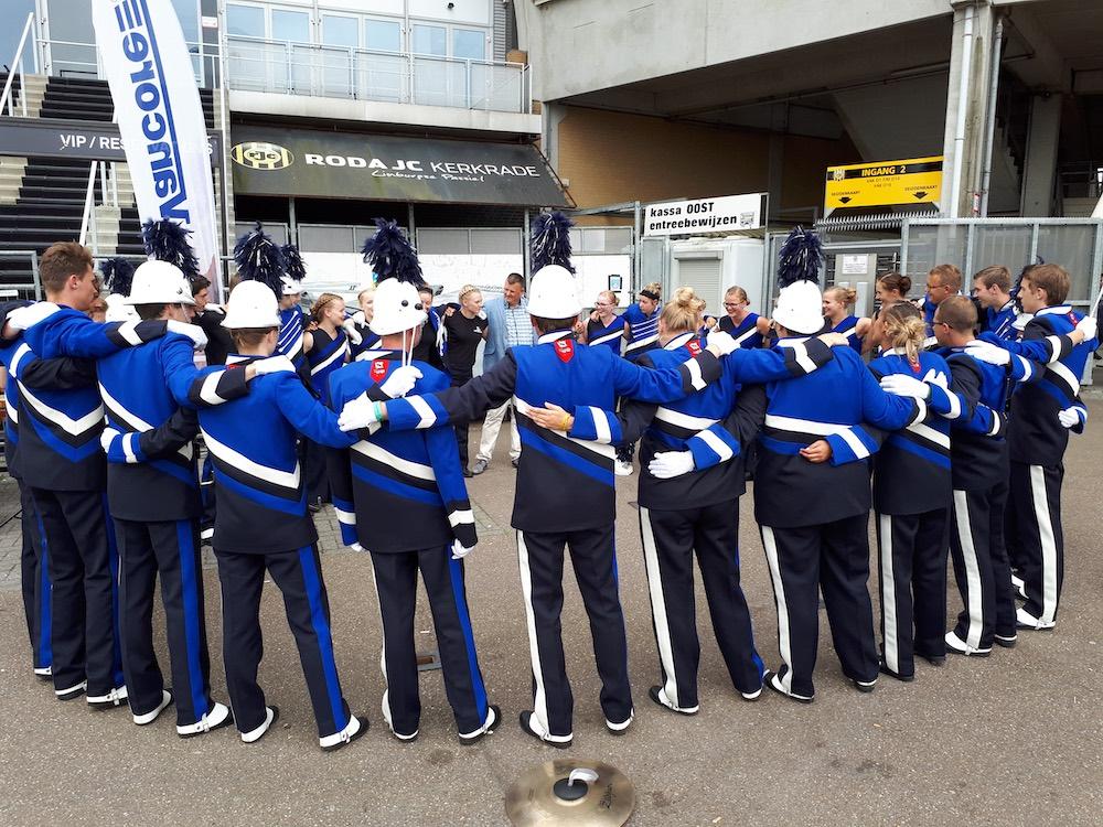 Showband Drumband Sternse Slotlanders WMC2017